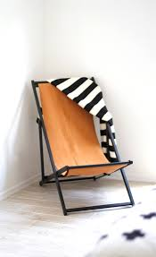 Beach Armchair How To Turn An Ikea Beach Chair Into A Modern Leather Lounge