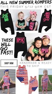I Love Gigi Baby Clothing 17 Best Images About Small Shop Finds On Pinterest Rompers Baby