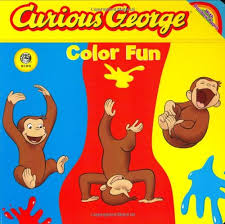 amazon curious george color fun cgtv board book die cut