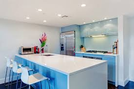 Recessed Lights In Kitchen Kitchen Kitchen Remodeling White Countertop In Blue Island Also