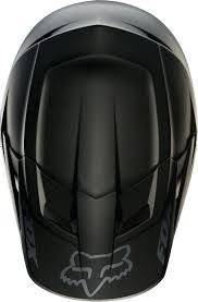 junior motocross helmets 2018 fox mx v1 motocross helmet matte black 1stmx co uk