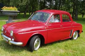 renault dauphine car picker red renault dauphine