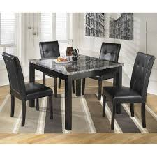 Ashley Furniture Maysville  Piece Square Dining Table Set In - Ashley furniture dining table black