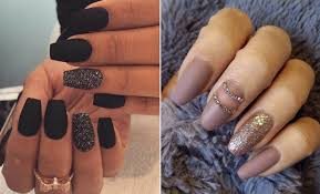 nail designe 25 cool matte nail designs to copy in 2017 stayglam