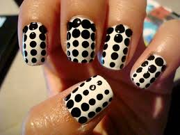the easiest polka dot nail art tutorial youll ever read dotting