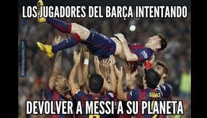 Los Memes De Messi - barcelona los memes tras el triunfo en chions y el r礬cord de