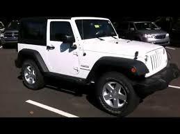 white jeep sahara 2 door 2014 jeep wrangler sport in doylestown pa 18902 youtube