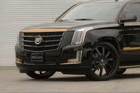 cadillac escalade 2015 black black and bronze 2015 cadillac escalade on forgiato wheels