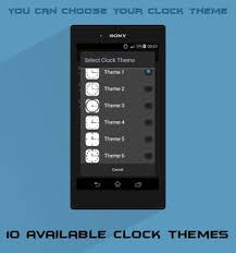 clock themes for android mobile anime clock widget apk download free personalization app for
