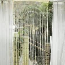 ficelle de rideau diviseur frange tassel pour porte moustiquaire