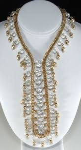 vintage glass crystal necklace images Vintage costume jewelry identification and value guide jpg