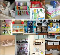 Craft Room Closet Organization - organize your whole house with one trip to the dollar store
