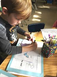 kindergarten writing proficiency with