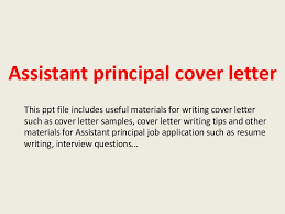 Cover Letter For Interior Design Assistant Assistantprincipalcoverletter 140221033912 Phpapp02 Thumbnail 4 Jpg Cb U003d1392953976