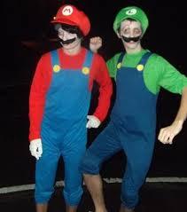 Mario Luigi Halloween Costume Plumber Costume Escapade Uk