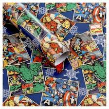marvel wrapping paper marvel christmas wrapping paper asda groceries