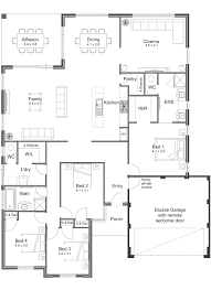 one story house home plans design basics and best floor corglife