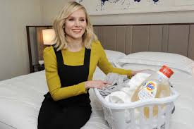 kristen bell joins tide on their clean pledge initiative