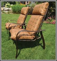 high back patio chair replacement cushions patios home