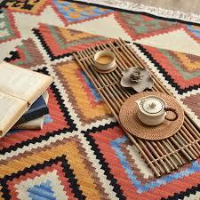 Wool Indian Rugs Aliexpress Com Buy Kilim 100 Wool Handmade Carpet Geometric