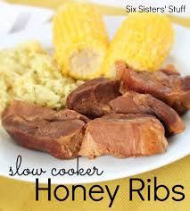slow cooker honey ribs recipe falling apart honey and recipes
