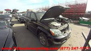 lexus gx470 manual transmission parting out 2008 lexus gx 470 stock 6112pr tls auto recycling