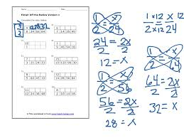 6th Grade Math Worksheets Ratios 4 3 Equivalent Ratios And Multiplication Tables Math Elementary