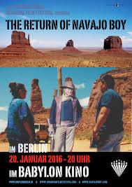 navajo boy screens in berlin in january 2016 international
