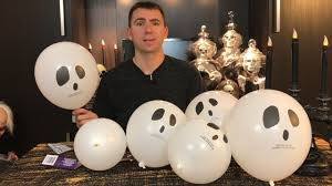 halloween led balloons halloween review ghost balloons w glow sticks from the dollar