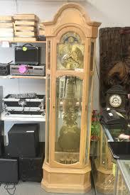 Emperor Grandfather Clock Ridgeway Light Oak Grandfather Clock 2319 U2022 399 97 Picclick