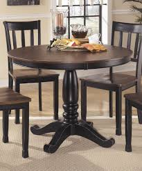 beautiful ashley furniture round dining table 83 about remodel