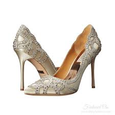 wedding shoes badgley mischka gatsby deco wedding shoes ivory satin deco shop