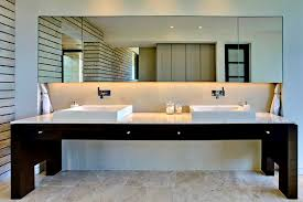bathroom mirror ideas gorgeous modern bathroom mirror ideas frameless modern bathroom