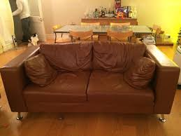 leather 3 piece set 1 two seater sofa 2 one seat chairs plus