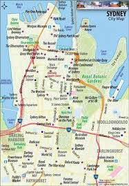 sydney australia map sydney australia map points of interest cool places to visit