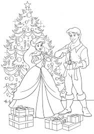 disney christmas coloring pages little mermaid coloring page archives gobel coloring page