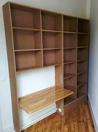 bureau avec rangement intégré création d un meuble de bureau avec rangements intégrés