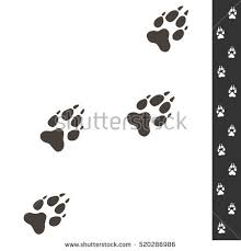 wolf paw stock images royalty free images u0026 vectors shutterstock