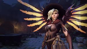 halloween supernatural background artstation overwatch halloween skins and props renaud galand