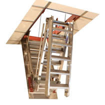 attic pull down ladders loft stair ladders