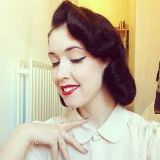 pin curl in retrospect how to 1950s vintage pin curl tutorial