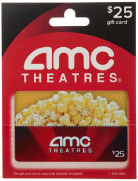 theater gift cards amc gift card 25