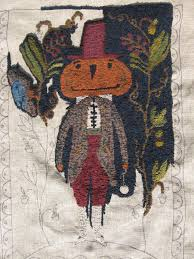 Hooked Rug Patterns Primitive Kris Miller From Spruce Ridge Studios September 2012