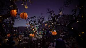 halloween cemetery set by 3dfancy in props ue4 marketplace