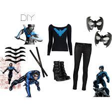 Nightwing Halloween Costume Nightwing Polyvore