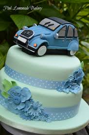 car cake 2cv car cake pink lemonade bakery