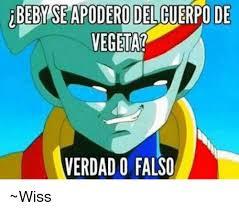 Memes De Vegeta - beby seapodero del cuerpo de vegeta verdado falso wiss meme on
