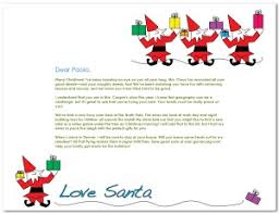 printable elves with presents santa letter template