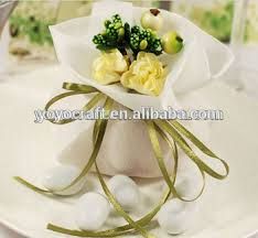 wedding souvenirs colorful party supply wedding favors candy bag handmade wedding