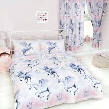 twin girls bedding girls pink fairy castle fairy tale princess single duvet cover